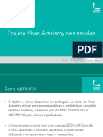 Projeto Khan Academy Nas Escolas Chamada Nov 2012
