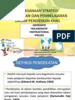 pra 3109 pelaksanaan strategi penejaran dan pembelajaran dalam pendidikan khas.pptx