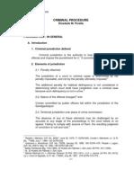 Criminal Procedure Reviewer Benchbook