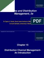 412 33 Powerpoint Slides 15 Distribution Channel Management an Introduction Chap 15