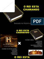 O REI ESTA CHAMANDO projeção .ppt