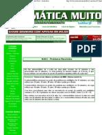 M.M.C. - Matemática Muito Fácil - Aritmética