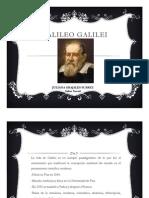 Unidad 2 Galileo Galilei - Juliana Grajales Suárez