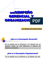 Clase 2 Teoria Clasica de la Administración -  Desempeño Gerencial y de la Organizacion