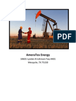 AmeraTex Energy Outperforming