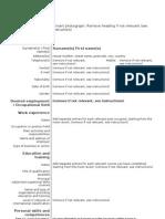 Model Cv Curriculum Vitae European Engleza (1)