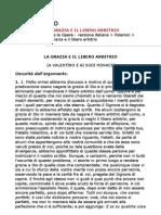 Sant'Agostino - La Grazia e Il Libero Arbitrio (ITA)