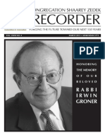 The Recorder 2013 March