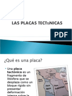 placas tectonicas