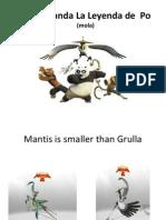 Kunfú Panda La Leyenda de  Po  (mola