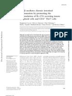 IL-1b Mediates Chronic Intestinal Inflamation