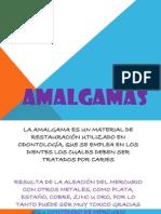 Amalgamas diapositivas