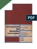 Garaudy Lecciones de Filosofia Marxista