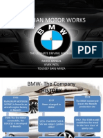bmw marketing plan
