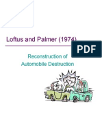 loftus  palmer 1974