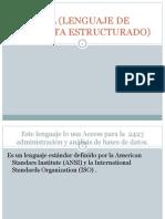 SQL (Lenguaje de Consulta Estructurado)