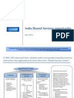 Shared Services India 2011