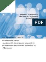 01_Présentation des services de domaine Active Directory