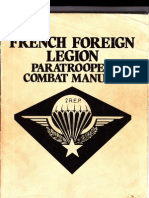 French Foreign Legion Paratrooper Combat Manual
