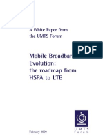 UMTS Forum MBB LTE White Paper February 2009