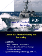 Piloting and Anchoring