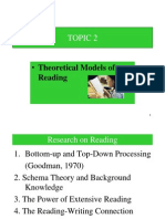 Theoretical Models of Reading