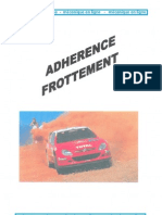 Adherence Frotement