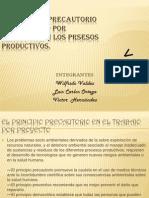 El Principio Precautorio y Eltrabajo Por Proyectosen Los