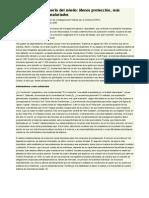 Menos protección y mas presion sobre asalariados (el diplo 2009)