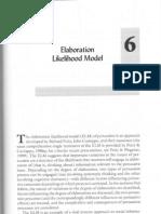 Elaboration Likelihood Model(1)