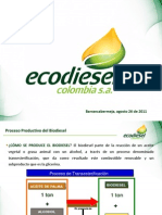 -Ecodiesel.httpwww.unipaz.edu.CoescuelaiaiPagina Web IAI2do Seminario de Desarrollo Agroindustrial CONFERENCIASDr. Carlos Varsquez -Ecodiesel