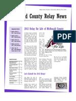 2012 02 Newsletter