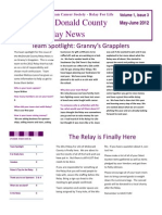 2012-05 06 Newsletter