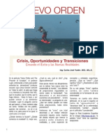 Crisis, Oportunidades y Transiciones