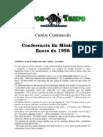 Castaneda, Carlos - Conferencia Mexico Enero de 1996