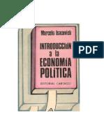 Isacovich Marcelo Introduccion a La Economia Politica