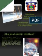Soluciones Tecnológicas al cambio Climático [Autoguardado]