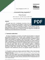 Koyama 1997 Desemanticizing Pragmatics