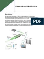 Laser Doppler Anemometry
