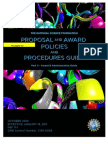 NSF Proposal and Award Policies Guide_2011