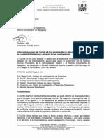 Primer de Informe Progreso Al Senado RUM_15_Sept_2012