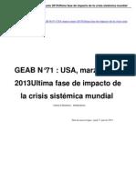 GEAB N71 USA Marzo Junio 2013Ultima Fase de Impacto de La Crisis Sistmica Mundial a22757