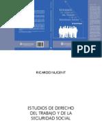 ESTUDIOS DE DERECHO DEL TRABAJO Y DE LA SEGURIDAD SOCIAL - RICARDO NUGENT.pdf
