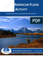 North American Flood Activity