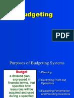 Ch 10 Budgeting