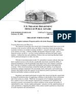Capital Assistance Program (CAP) White Paper