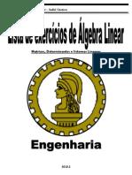 1ª_Lista_de_Algebra_Linear-Matrizes,_Sistemas_e_Determinantes_2010