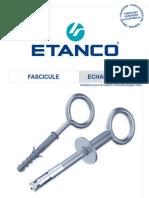 Guide Technique Echafaudages ETANCO 2010