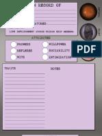 Abandon All Hope Character Sheet