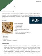 PIEROGI - Pierogi z kapustą i grzybami - Przepis